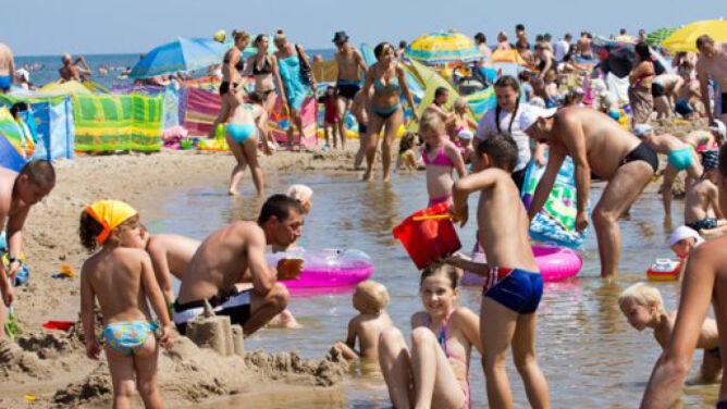 Polska praży się na plaży