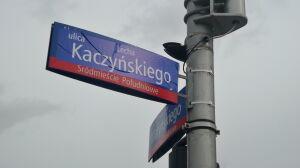 Ulica Lecha Kaczyńskiego ponownie na tablicach