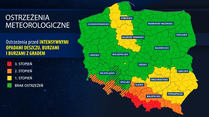 Ostrzeżenia meteorologiczne (IMGW)