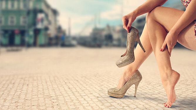 Buty na obcasie: pięknie wyglądają, koszmarnie zniekształcają