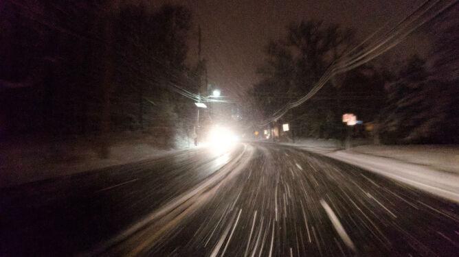 Lokalne opady śniegu utrudnią podróżowanie