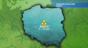 Warunki drogowe w piątek 27.12