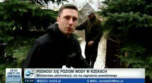 Podtopienia w Polsce (TVN24)